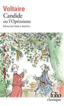 Couverture du livre « Candide ou l'optimisme » de Voltaire aux éditions Folio
