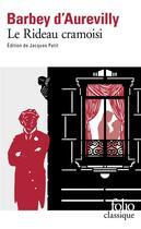 Couverture du livre « Le rideau cramoisi » de Jules Barbey D'Aurevilly aux éditions Gallimard