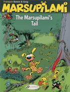 Couverture du livre « Marsupilami T.1 ; the Marsupilami's tail » de Greg et Batem et Andre Franquin aux éditions Cinebook