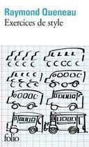 Couverture du livre « Exercices De Style » de Raymond Queneau aux éditions Gallimard
