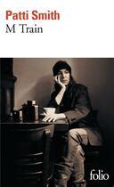 Couverture du livre « M train » de Patti Smith aux éditions Gallimard