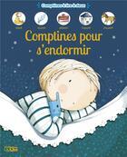 Couverture du livre « Comptines pour s'endormir » de Virginie Aladjidi et Caroline Pellissier et Mayalen Goust aux éditions Lito