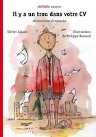 Couverture du livre « Il y a un trou dans votre CV ; 21 entretiens d'embauche » de Olivier Salaun aux éditions Antidata