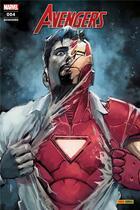Couverture du livre « Avengers N.4 » de Avengers aux éditions Panini Comics Fascicules
