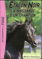 Couverture du livre « L'étalon noir T.19 ; la naissance d'un champion » de Walter Farley et Steven Farley aux éditions Hachette Jeunesse