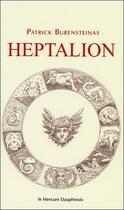 Couverture du livre « Heptalion » de Patrick Burensteinas aux éditions Mercure Dauphinois