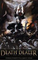 Couverture du livre « Death dealer t.3 ; dans les griffes du mal » de Frank Frazetta et James Silke aux éditions Eclipse