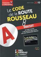 Couverture du livre « Code Rousseau de la route B (édition 2019) » de Collectif aux éditions Codes Rousseau