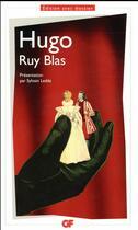 Couverture du livre « Ruy Blas » de Victor Hugo aux éditions Flammarion