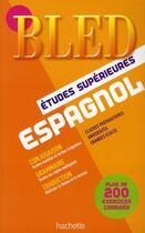 Couverture du livre « Bled ; Espagnol ; Classe Prépas » de Pierre Gerboin aux éditions Hachette Education