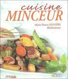 Couverture du livre « Cuisine Minceur » de Marie-Pierre Olivieri aux éditions Saep