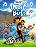 Couverture du livre « Droit au but ! T.9 ; Nino & son meilleur ennemi » de Skiav et Jean-Luc Garrera et Thierry Agnello et Davoine aux éditions Hugo Bd