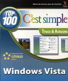 Couverture du livre « Windows vista ; top 100 » de Mcfedries Paul aux éditions First Interactive