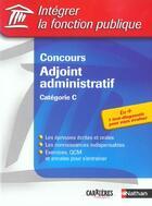 Couverture du livre « Concours adjoint administ ifp (édition 2003) » de Tuccinardi/Barnet aux éditions Nathan