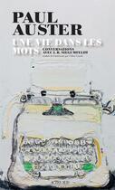 Couverture du livre « Une vie dans les mots ; conversations avec I.B. Siegumfeldt » de Paul Auster aux éditions Actes Sud