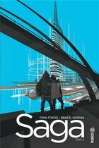 Couverture du livre « Saga T.6 » de Fiona Staples et Brian K. Vaughan aux éditions Urban Comics