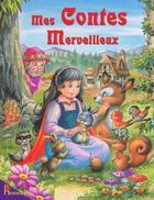 Couverture du livre « Mes Contes Merveilleux » de Nathalie Monnin aux éditions Hemma