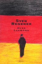 Couverture du livre « Herr lehmann » de Regener Sven aux éditions Seuil