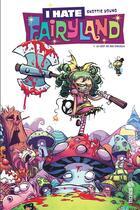Couverture du livre « I hate Fairyland T.1 ; le vert de ses cheveux » de Skottie Young aux éditions Urban Comics