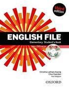 Couverture du livre « English file ; elementary ; student's book & itutor pack (3e édition) » de Clive Oxenden et Christina Latham-Koenig et Paul Seligson aux éditions Oxford University Press