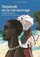 Couverture du livre « Vendredi ou la vie sauvage » de Michel Tournier aux éditions Gallimard-jeunesse
