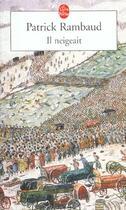 Couverture du livre « Il neigeait » de Patrick Rambaud aux éditions Lgf