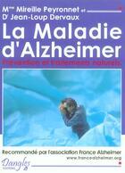 Couverture du livre « Maladie d'alzheimer. prevention traitement » de Mireille Peyronnet aux éditions Dangles
