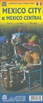 Couverture du livre « Mexico Central & Mexico city » de Collectif Hachette aux éditions Itm