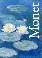 Couverture du livre « Monet ; coffret l'essentiel » de Anne Sefrioui aux éditions Hazan
