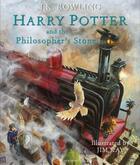 Couverture du livre « Harry Potter and the philosopher's stone t.2 ; illustrated edition » de J. K. Rowling et Jim Kay aux éditions
