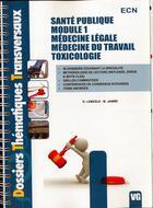 Couverture du livre « Santé publique » de D. Lemesle aux éditions Vernazobres Grego