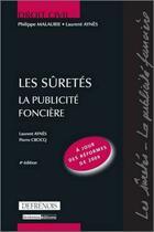 Couverture du livre « Les sûretés ; la publicité foncière (4e édition) » de Aynes/Crocq aux éditions Lgdj