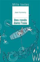 Couverture du livre « Des ronds dans l'eau » de Jean Humenry aux éditions Presses D'ile De France