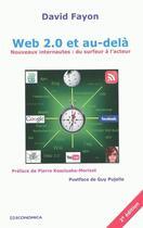 Couverture du livre « Web 2.0 et au-delà (2e édition) » de David Fayon aux éditions Economica
