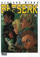 Couverture du livre « Berserk T.24 » de Kentaro Miura aux éditions Glenat