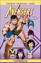 Couverture du livre « Avengers ; INTEGRALE VOL.4 ; 1967 » de Don Heck et John Buscema et Roy Thomas aux éditions Panini