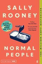 Couverture du livre « NORMAL PEOPLE » de Sally Rooney aux éditions Faber Et Faber