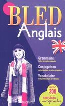 Couverture du livre « Bled ; Anglais » de B Lallement et Pierret aux éditions Hachette Education