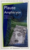Couverture du livre « Plaute Amphitryon » de Plaute aux éditions Flammarion