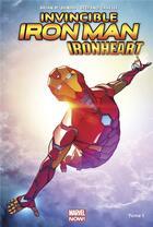 Couverture du livre « The invincible Iron Man - Ironheart T.1 » de Stefano Caselli et Brian Michael Bendis aux éditions Panini