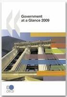 Couverture du livre « Government at a glance, 2009 » de Collectif aux éditions Ocde