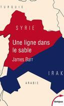 Couverture du livre « Une ligne dans le sable » de James Barr aux éditions Tempus/perrin