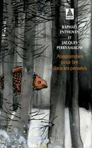 Couverture du livre « Anagrammes pour lire dans les pensées » de Raphael Enthoven et Jacques Perry-Salkow et Jiang Hong Chen aux éditions Actes Sud