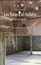Couverture du livre « Les bains d'al-Andalus » de Caroline Fournier aux éditions Pu De Rennes