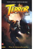 Couverture du livre « Terror inc. t.1 » de D Lapham et P Zircher aux éditions Panini