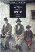 Couverture du livre « Gens Sans Terre » de Julia O'Faolain aux éditions Phebus