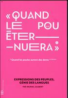 Couverture du livre « Quand le pou éternuera » de Muriel Gilbert aux éditions Ateliers Henry Dougier