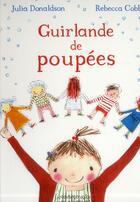 Couverture du livre « Guirlande de poupées » de Rebecca Cobb aux éditions Kaleidoscope