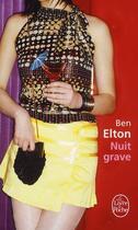 Couverture du livre « Nuit grave » de Elton-B aux éditions Lgf