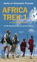 Couverture du livre « Africa trek t.1 ; du cap au kilimandjaro » de Sonia Poussin aux éditions Pocket